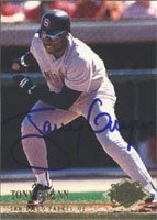 Tony Gwynn San Diego Padres 1994 Fleer Ultra Autographed Hand Signed Trading Card -... by Hall+of+Fame+Memorabilia