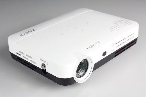 Zeco Cx3 Wxga Short-Throw Dlp Projector,Pocket,Dlp-Linke 3D,Blu-Ray