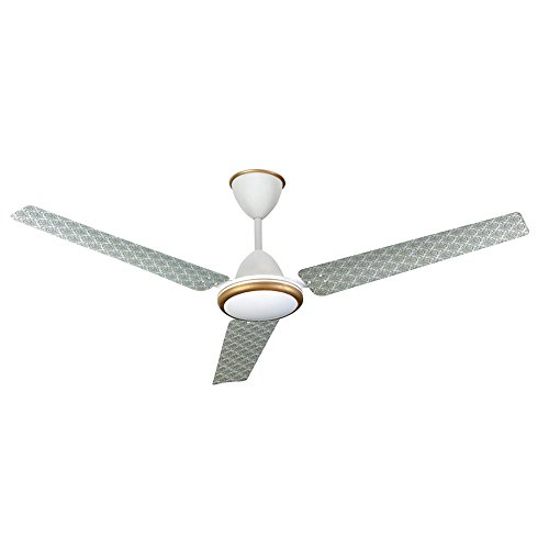 Kenstar Aria Décor FN-KCAW261WG3A-OSN 1320mm Smart Fan with Remote (White)