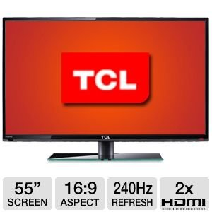 "TCL LE55FHDF3300Z 55"" 1080p 240Hz LED HDTV"