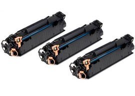 3PK Axiom CE285A compatible Toner cartridge For HP 85A LaserJet P1102