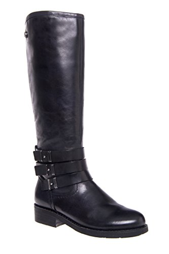 Prague Three Strap Knee High Boot
