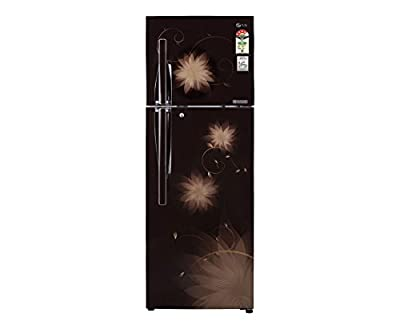 LG GL-D372JHSL Frost-free Double-door Refrigerator (335 Ltrs, 4 Star Rating, Hazel Spring)