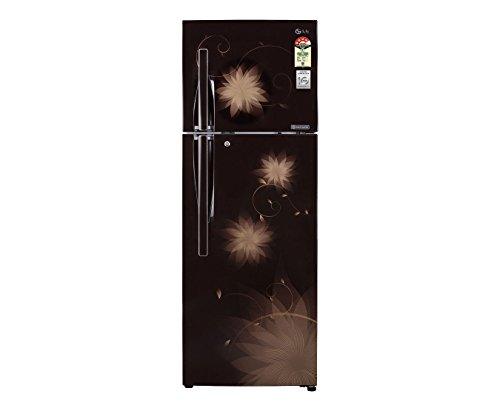 LG GL-D372JHSL 335 Litres Double Door Refrigerator