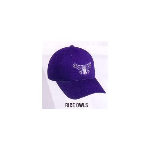 Rice Owls Official Licensed College Velcro Adjustable Cap (Hat Size Adult)