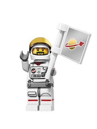 LEGO-Series-15-Collectible-Minifigure-71011-Astronaut