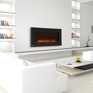 Napoleon 42 Linear Wall Mount Electric Fireplace EFL42