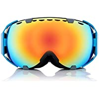 Ski Goggles Motorcycle Spherical Anti-fog UV Protective Dual Lens Snowboard Glasses