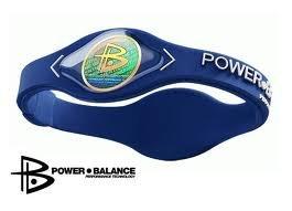 Power Balance (Navy Blue/White lettering) size Extra Large Wristband Balance Bracelet (Power Bands Large compare prices)