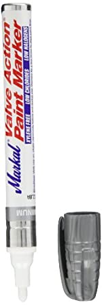 """Markal Valve Action Liquid Paint Marker with 1/8"""" Bullet Tip"""