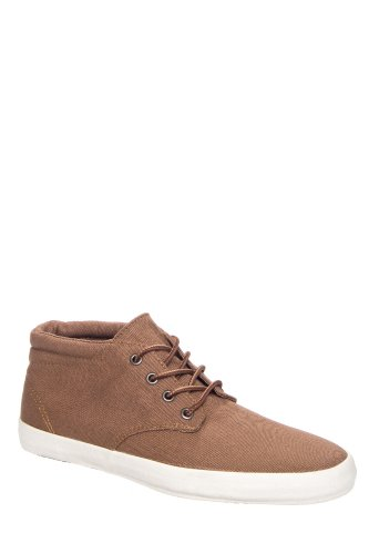 Vans Men's Surf Siders Del Norte Mid Top Sneaker