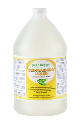 Green Bucket Dishwashing Liquid 1gal. Environmentally Friendy
