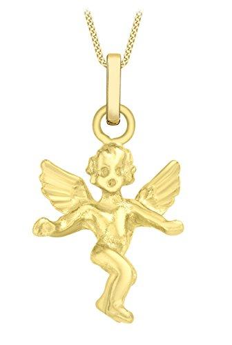 Carissima-Gold-Unisex-Kette-mit-Anhnger-375-Gelbgold-46-cm-1431844