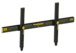 """Hang It Perfect Easy Frame Hanging Tool, Black, 24"""" (HIP24)"""