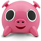 Amethyst Innovations A1-BT7120PK Bluetooth Pig Speaker (Pink)