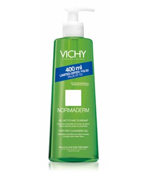 Vichy Normaderm Purifying Deep Cleansing Purifying Gel 400 Ml