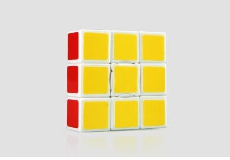Sunshine 1x3x3 Speed Cube 6-color Stickerless Professional Game Educational Toys
