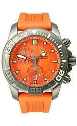 Victorinox Swiss Army Dive-Master 500 Chrono Orange Dial Men's watch #241423