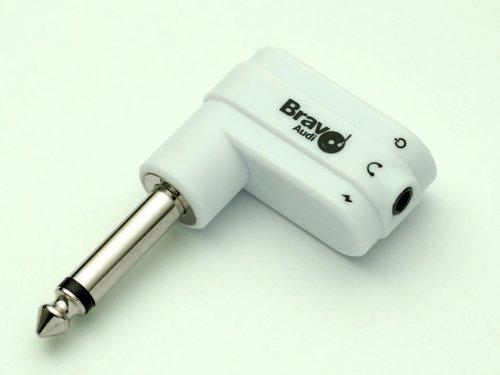 Bravo Audio Headplug Mini Rechargeable Guitar Headphone Amplifier