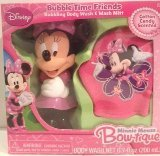 Disney Minnie Mouse Bow-tique Bubble Time Friends Body Wash & Wash Mitt - 1