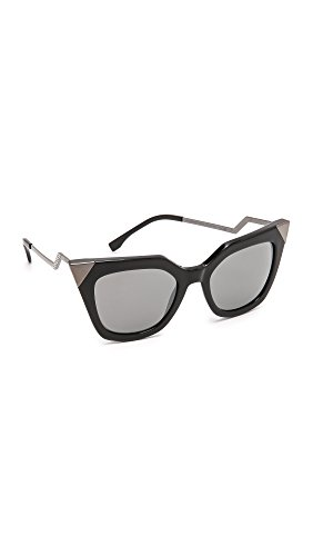 Fendi-Womens-Mirrored-Corner-Accent-Sunglasses