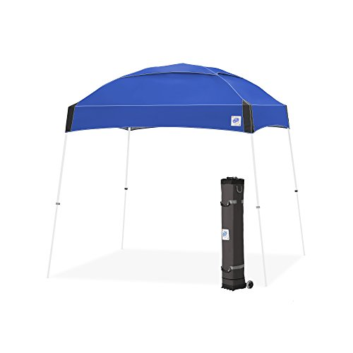 E-Z UP Dome Instant Shelter Canopy, 10 by 10', Royal Blue