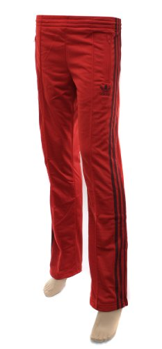 Adidas Originals Womens Firebird Red Track Pants