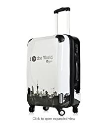 Di Grazia Men Women Children Tourist Trolley Luggage Rolling Bag Suitcase With Wheels 20 inch