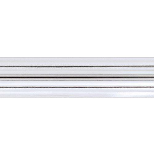 Amscan - Metallic Silver Jumbo Gift Wrap - Standard - 1