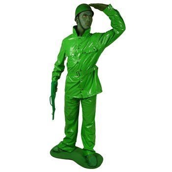 Morphsuits Men's Morphcostume Saving Private Morph Toy Solider