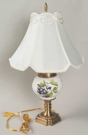 How To Get Portmeirion Pomona Small Globe Vase Lamp With Shade Fine