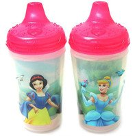 Disney Princess Sippy Cup 9 Oz Insulated Spill-proof 2pk (The First Years 2 Pack Sippy Cup compare prices)