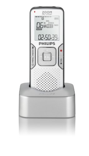 Philips Voice Tracer 868 - Digital voice recorder - flash 4 GB - WMA, MP3 - display: 1.5