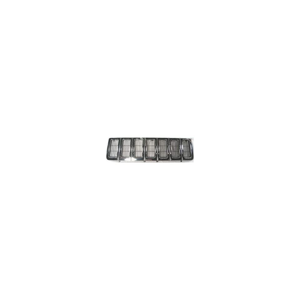 TKY AM07011GA MT5 Jeep Grand Cherokee Chrome Replacement Grille