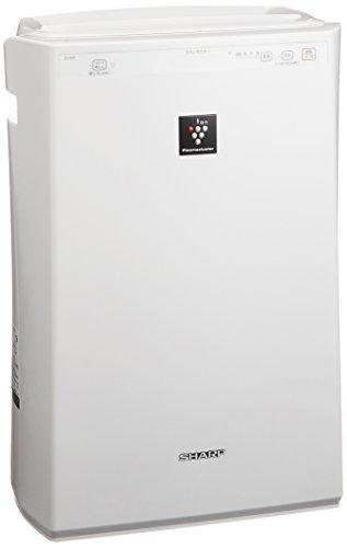 シャープ 空気清浄機 プラズマクラスター搭載 ホワイト FU-E51-W