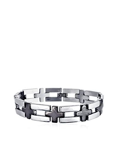 1913 Stainless Steel Cross Bracelet
