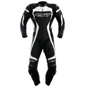 RST TRACTECH EVO 1003 1 PIECE LEATHER RACE SUIT WHITE SIZE 40 CHEST (UK)