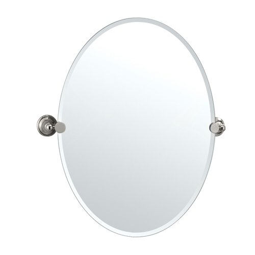 Gatco Gc4589Lg Mirror Glass Laurel Ave Large Oval Tilting Wall Mirror front-280899