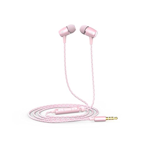 Honor Engine Earphone for Honor 5X and Smart Phones- Pink