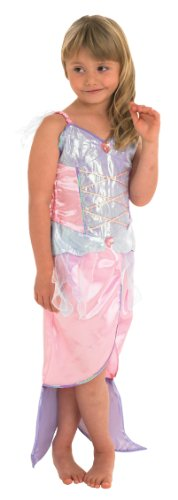 Rubies Fancy Dress Costume - Mermaid Girls Costume Small 3-4 Years