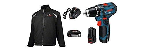 Bosch HEAT+JACKET 10, - Giacche da lavoro e giacca di calore 10.8 v base s gsr 10,8
