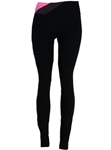 Under Armour Women's UA Perfect Shape Legging (X-Large, Black/Pink/Gray)