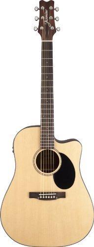 Jasmine Jd36Ce-Nat J-Series Acoustic-Electric Guitar, Natural
