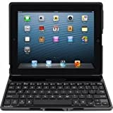 Belkin F5L149EABLK - Ultimate - Keyboard and folio case - Bluetooth - QWERTY - black - for Apple iPad (3rd generation), iPad 2, iPad with Retina display (4th generation)