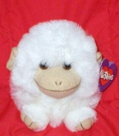 Puffkins Trixy The White Monkey - 1