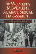 The Women&#39;s Movement Against Sexual Harassment (New Approaches to the Americas)