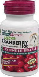 Nature'S Plus Herbal Actives Extended Release Cranberry - 30 Tablet