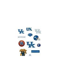 Kentucky Wildcats Team Logo Assortment Fathead Jr. Wall Decal by Fathead