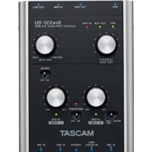 Tascam Us122Mkii Usb Audio/Midi Interface