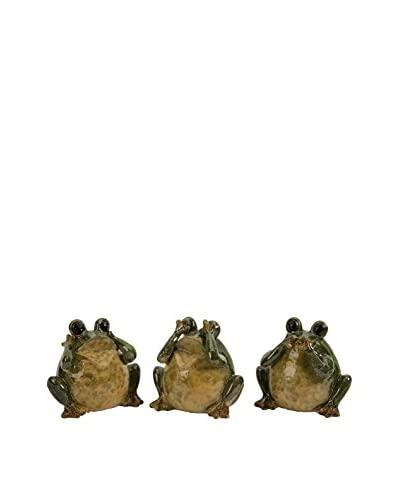 Set of 3 Hear, See & Speak Frogs